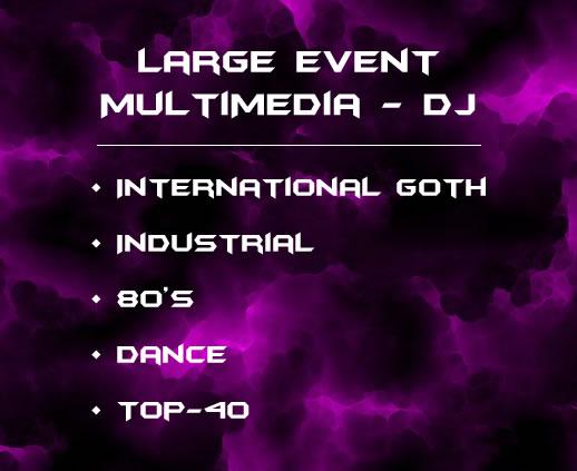 International Goth - Industrial - 80's - Dance - Top-40